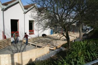 die Bodenkonstruktion